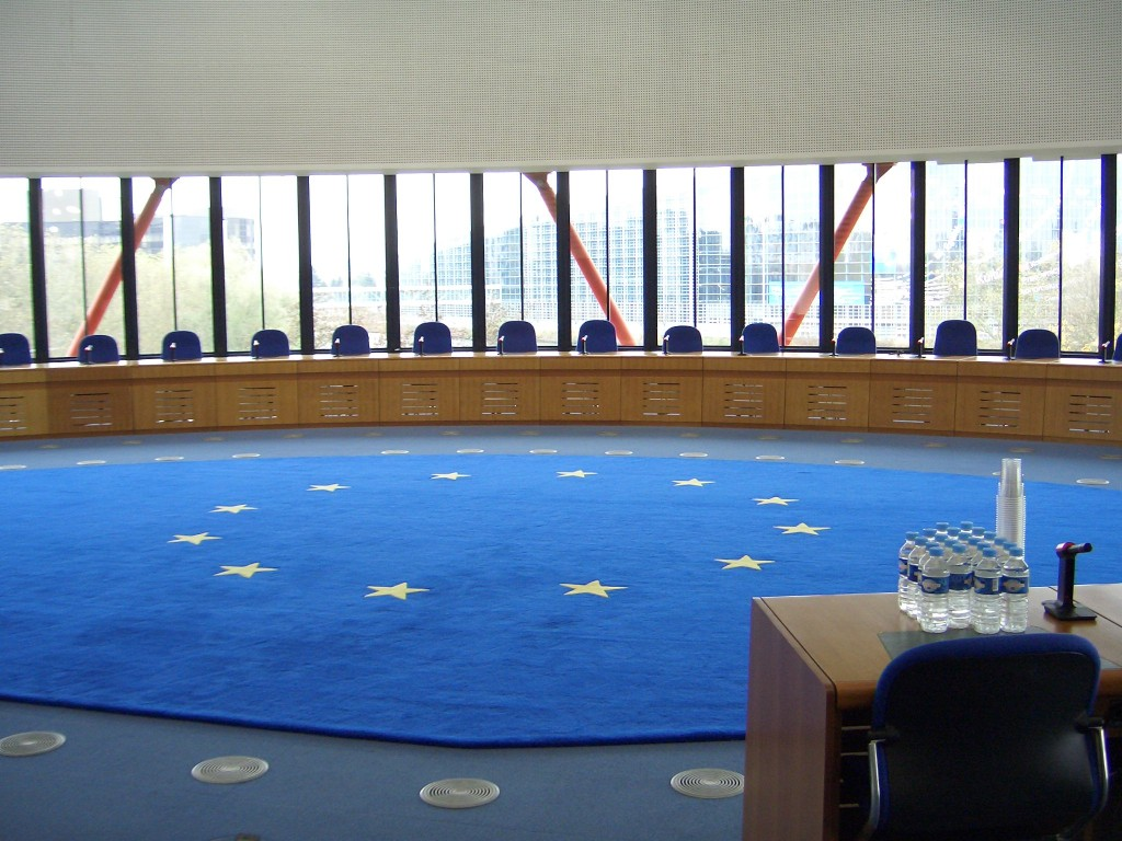 European Court of Human Rights Credit: ECHR