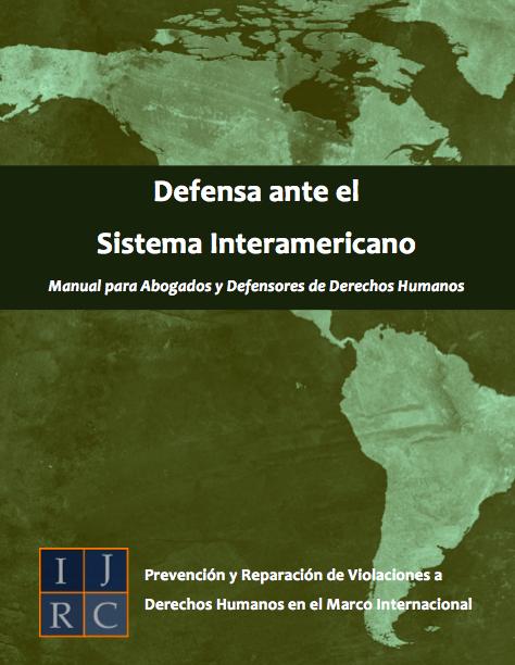 Defensa Ante El Sistema Interamericano