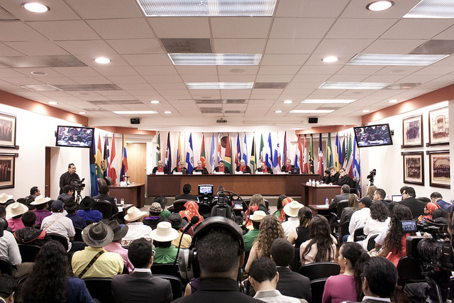The Inter-American Court of Human Rights in sessionCredit: IACtHR