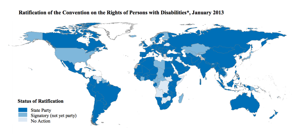Convention on Rights of Persons with Disabilities ratification