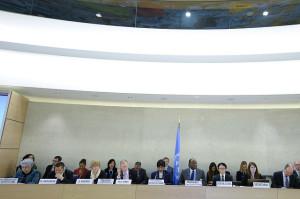 Participants in the UN Human Rights Council's 25th SessionCredit: UN Photo/Jean-Marc Ferre