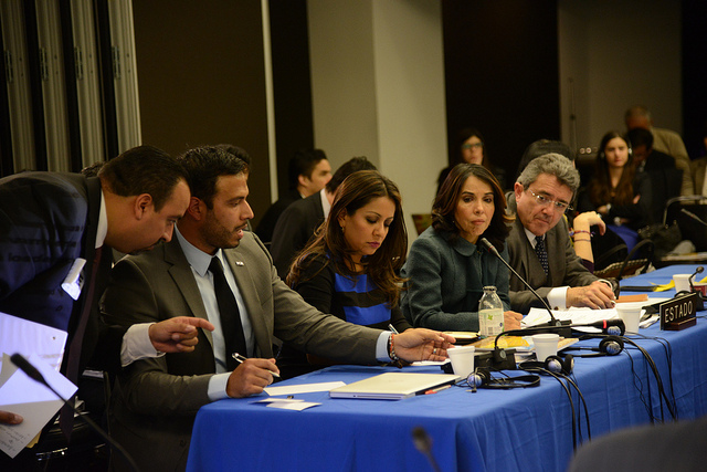 IACHR hearing on criminal justice, March 2014Credit: Daniel Cima/IACHR