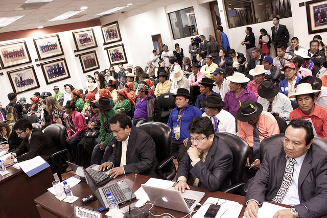 Hearing in Kuna de Madungandí and Emberá de Bayano Indigenous Communities and Their Members v. Panama