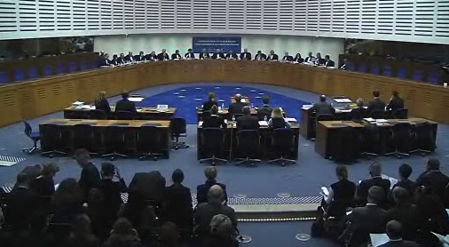 The ECtHR Grand Chamber hears Jaloud v. The NetherlandsCredit: ECtHR