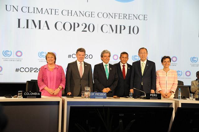 Lima Climate Change ConferenceCredit: UNclimatechange