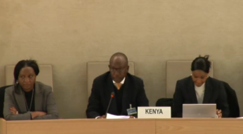 Kenya participates in the UPR