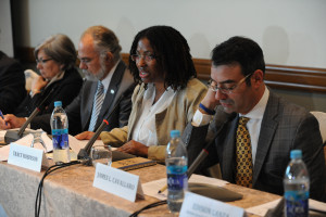 Members of the Inter-American Commission on Human Rights. Credit: Daniel Cima/IACHR