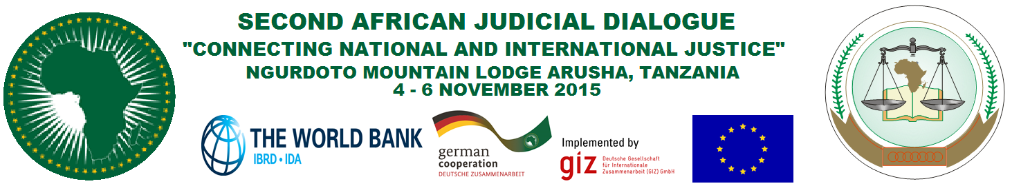 Second Continental Judicial Dialogue