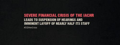 CIDH en crisis photo