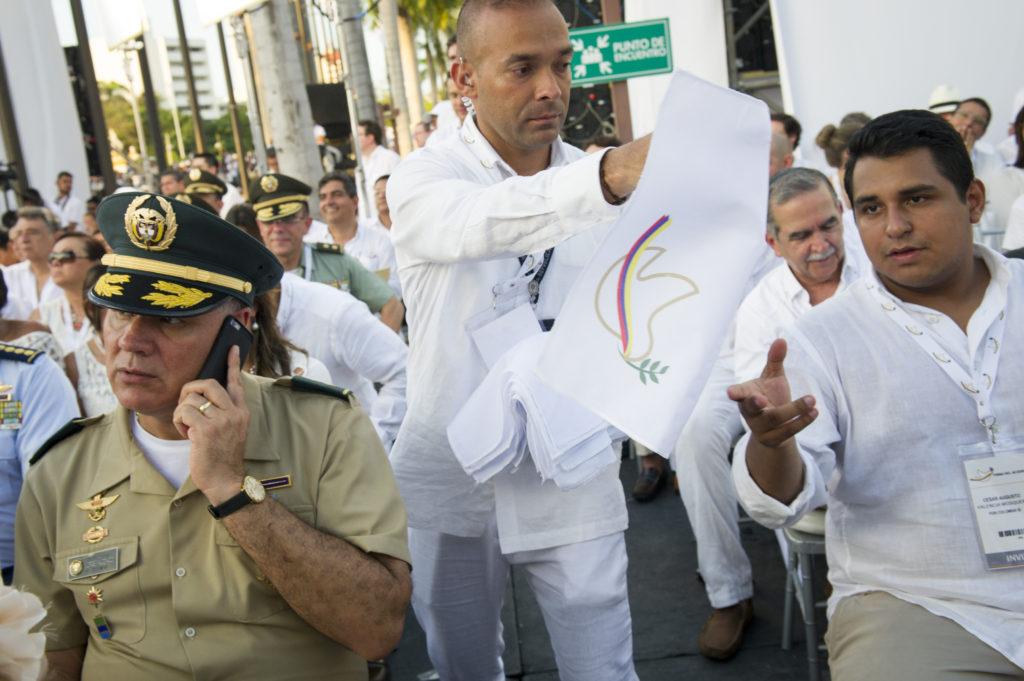 Colombian Peace Agreement Ceremony Credit: UN Photo/Rick Bajornas