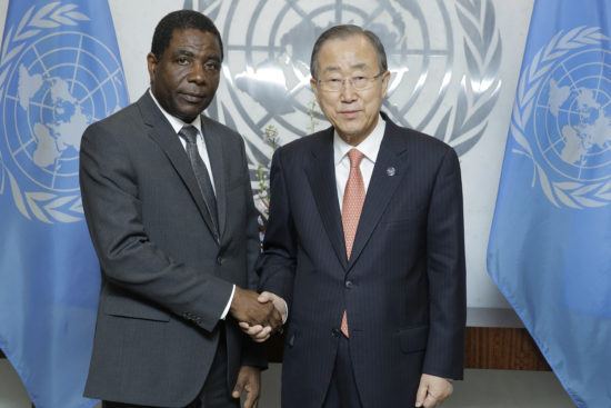 Sg with H.E. Mr. Enex Jean Charles (Prime Minister, REPUBLIC OF HAITI)
