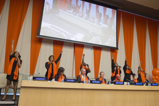 United Nations Official Commemoration of the International Day for the Elimination of Violence against Women: ÒOrange the World: Raise Money to end Violence against WomenÓ