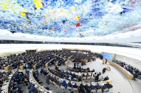 El Consejo de Derechos Humanos en una de sus últimas sesiones