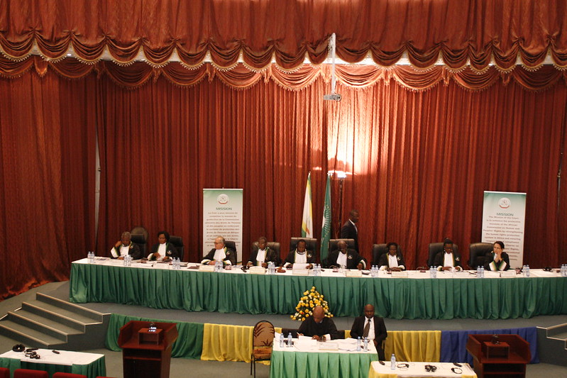 African Court on Human and Peoples' Rights, in 2017